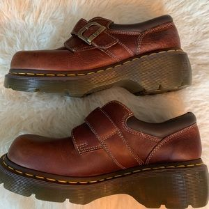 NWOT Dr Martens Monk Strap Shoes